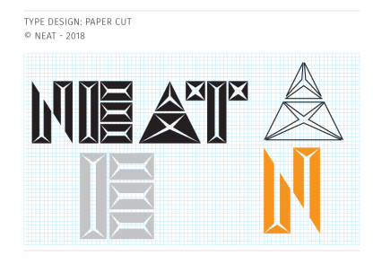 Neat - type design