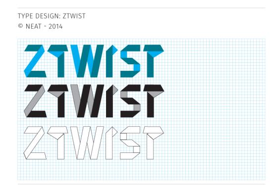 Neat - typeface / brand design