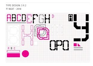 Neat - typeface design